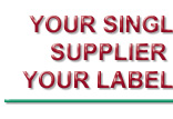 Your Single Source Supplier for all Your Labeling Needs